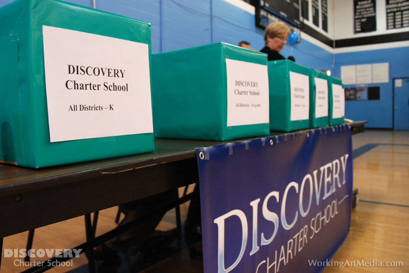 Discovery Charter School First Admissions Lottery