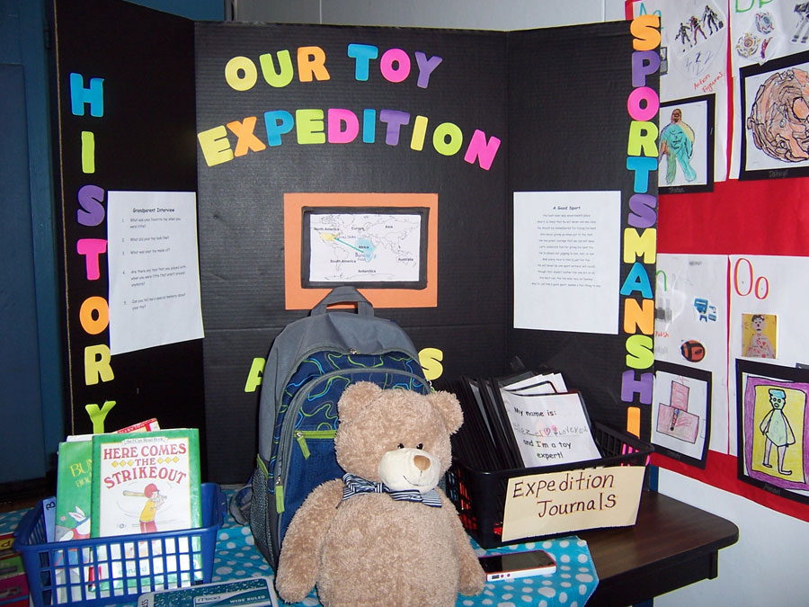 Exhibition of the Toy Expedition during the graduation events